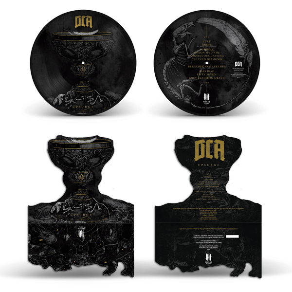 DCA picture disc deluxe packaging