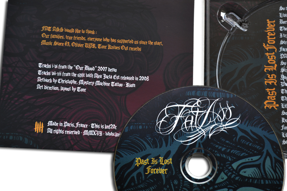 FAT ASS Past Is Lost Forever digipack