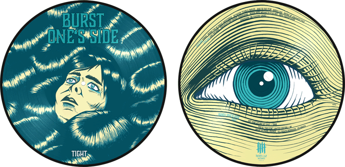 BURST ONES SIDE picture disc vinyl
