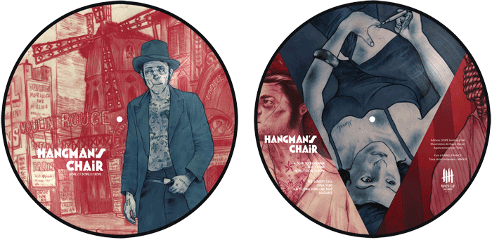 HANGMAN'S CHAIR picture disc, Dope Edition