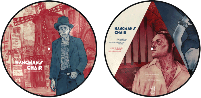 HANGMAN'S CHAIR picture disc, Hope Edition