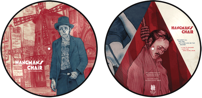 HANGMAN'S CHAIR picture disc, Rope Edition