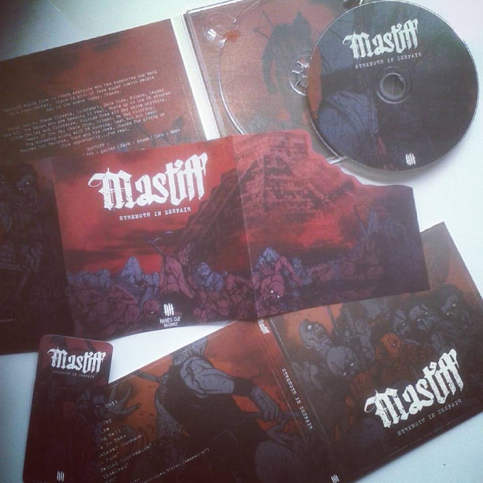 MASTIFF 'Strength In Despair' full pack