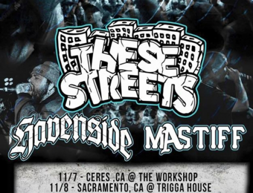 MASTIFF / THESE STREETS / HAVENSIDE Tour flyer