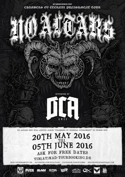 No Altars DCA tour flyer