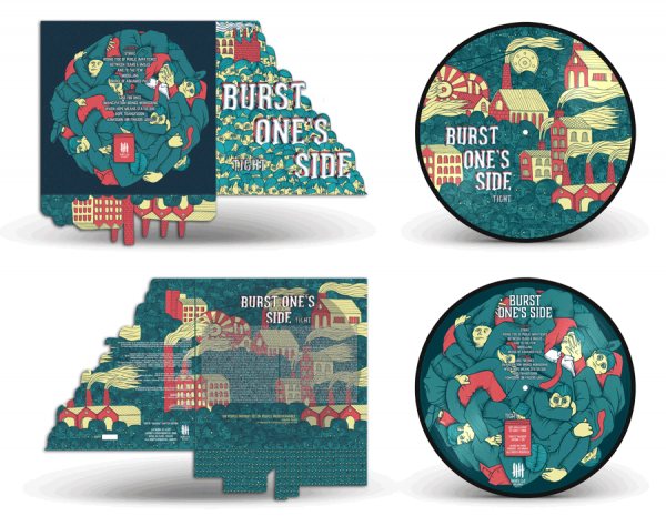 BURST ONES SIDE Tight picture disc vinyl edition