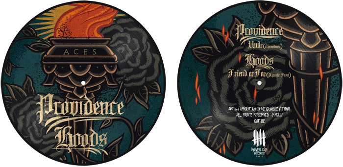 PROVIDENCE / HOODS aces picture disc