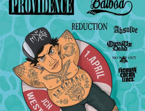 PROVIDENCE / REDUCTION / BALBOA Fest flyer