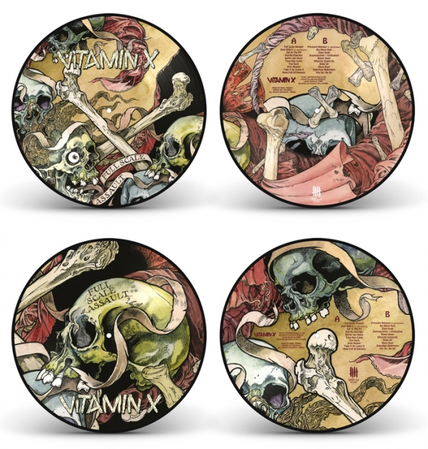 VITAMIN X Full Scale Assault full picture disc edition