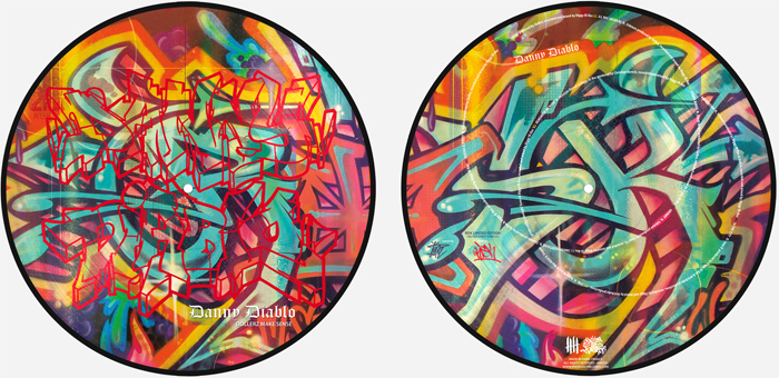 Danny Diablo picture disc RISK edition