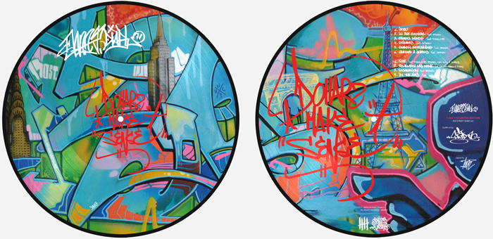 DANNY DIABLO 'Dollerz Make Sense' Picture Disc T-KID 170 Edition