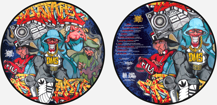 DANNY DIABLO 'Dollerz Make Sense' Picture Disc U5 Edition