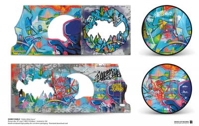 Danny Diablo 'Dollerz Make Sense' T-KID 170 Picture Disc vinyl Edition