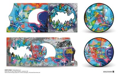 Danny Diablo 'Dollerz Make Sense' T-KID 170 Picture Disc vinyl Edition