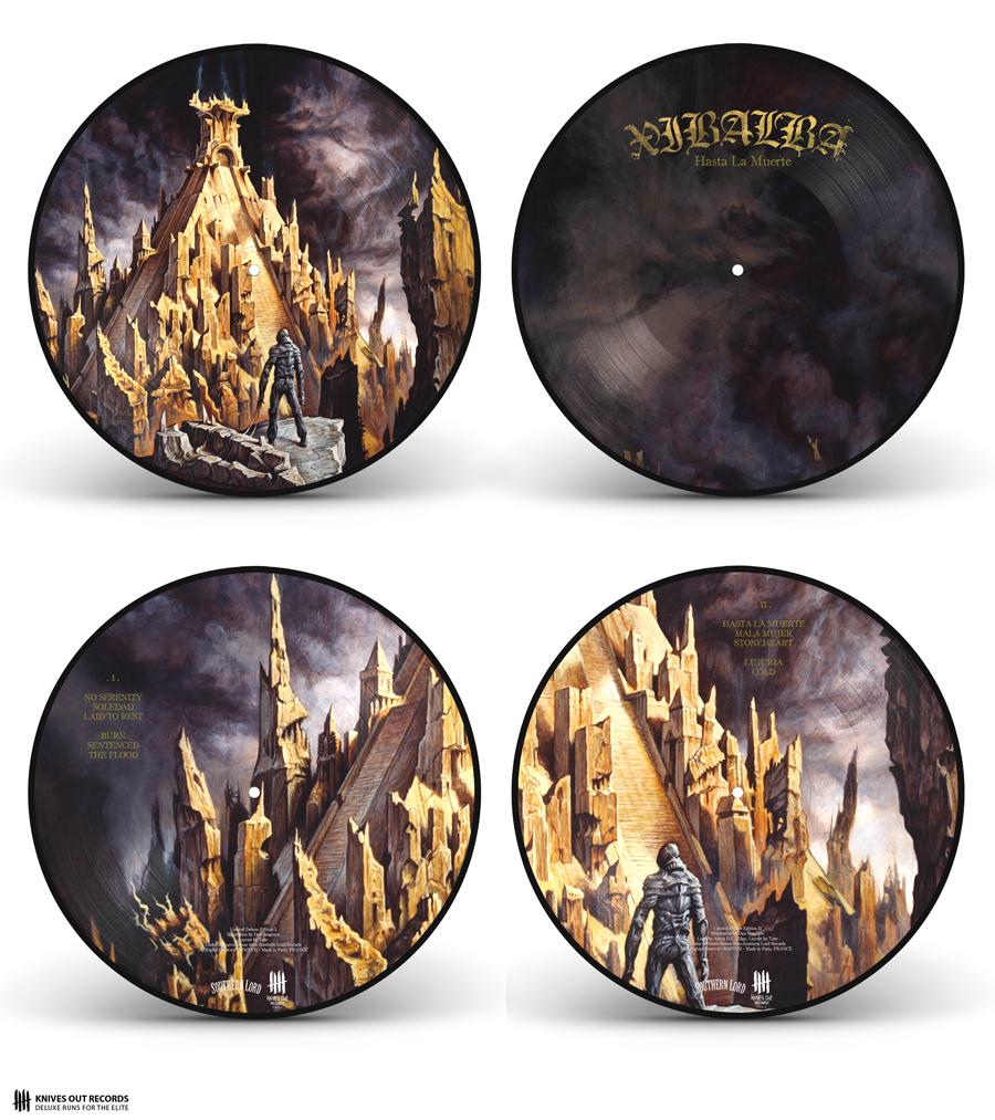 XIBALBA 'Hasta La Muerte' Double PictureDisc Vinyl