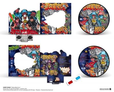 Danny Diablo 'Dollerz Make Sense' ICE U5 Picture Disc vinyl Edition
