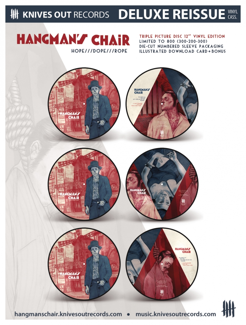 HANGMAN S CHAIR Hope Dope Rope triple picture disc vinyl edition