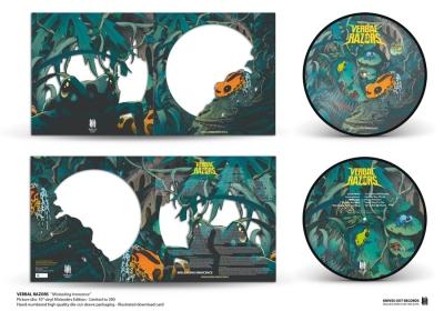 VERBAL RAZORS Misleading Innocence , misleaders picture disc vinyl edition