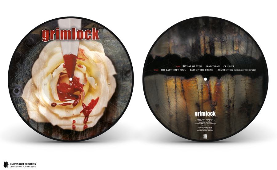 GRIMLOCK Crusher picture disc vinyl