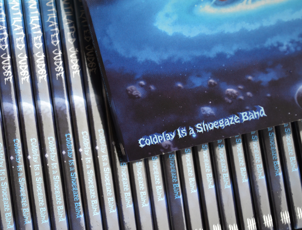 MUTILATED JUDGE Coldplay Is A Shoegaze Band digipack CD