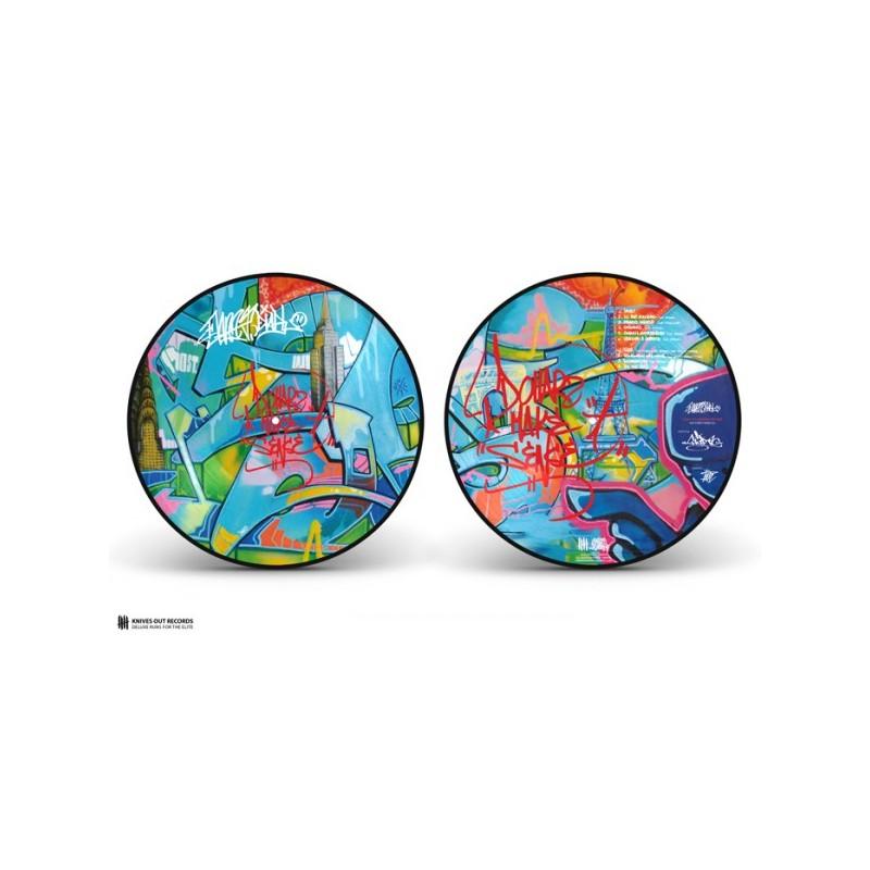 Die-cut vinyl sticker, 6 x 7.5