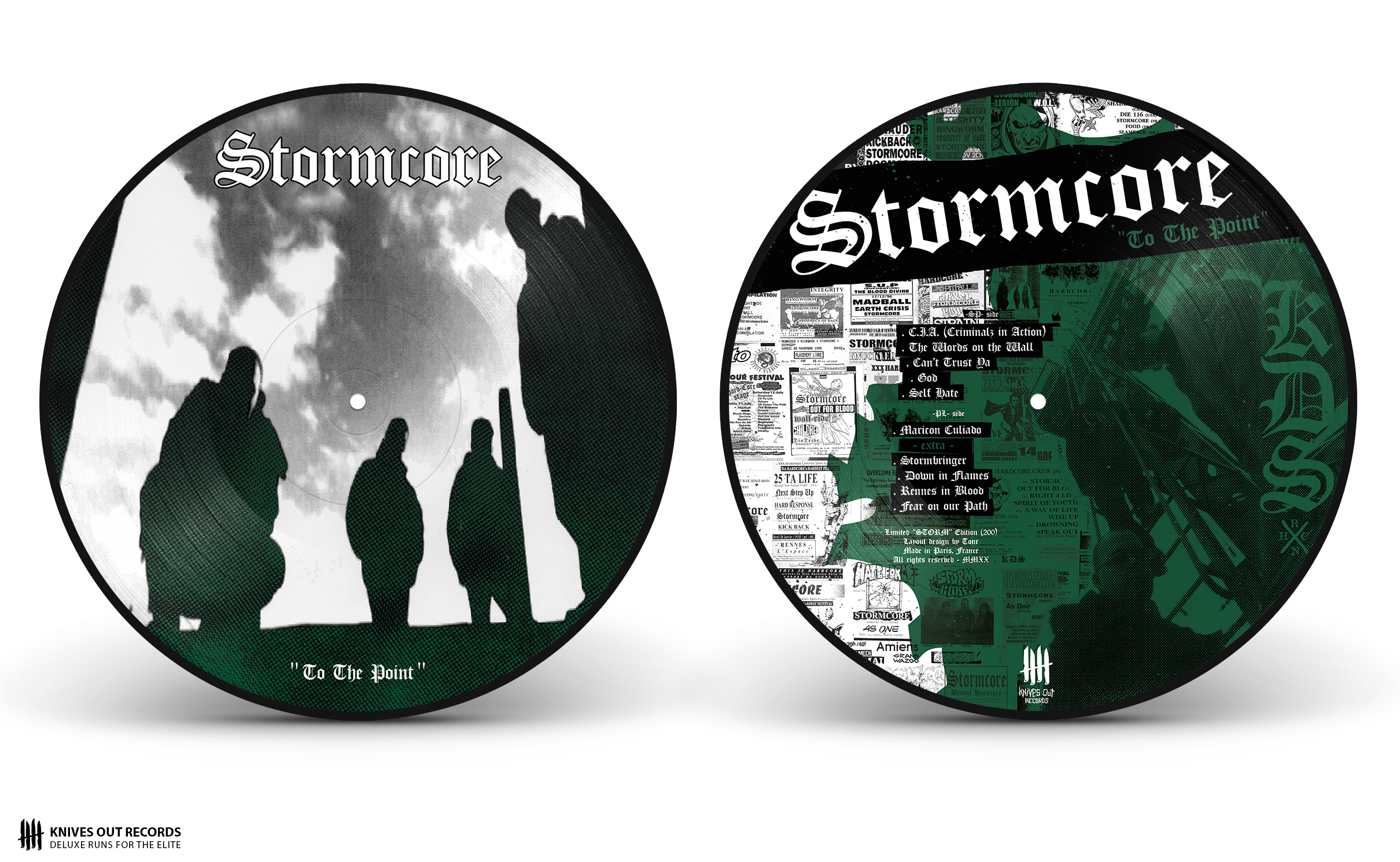 STORMCORE To The Point Picture Disc Vinyl, STORM Edition