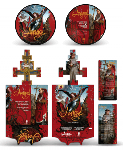 ARKANGEL picture disc, deluxe packaging
