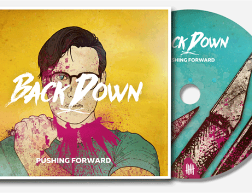 "BACK DOWN ""Pushing Forward"" Digipack CD"