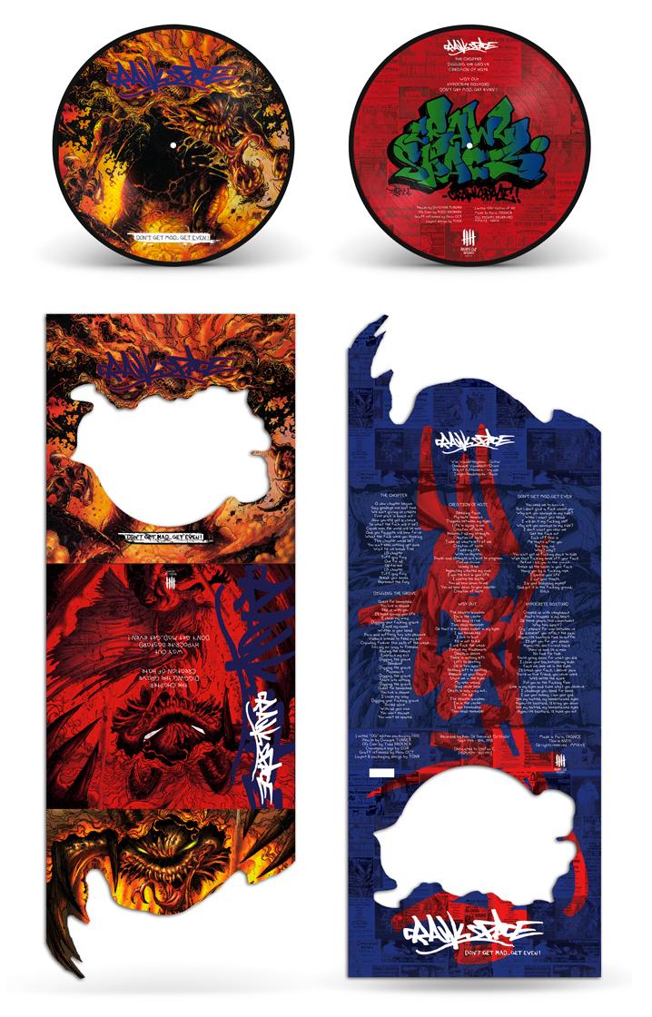 CRAWLSPACE picture disc vinyl, OG preorder edition