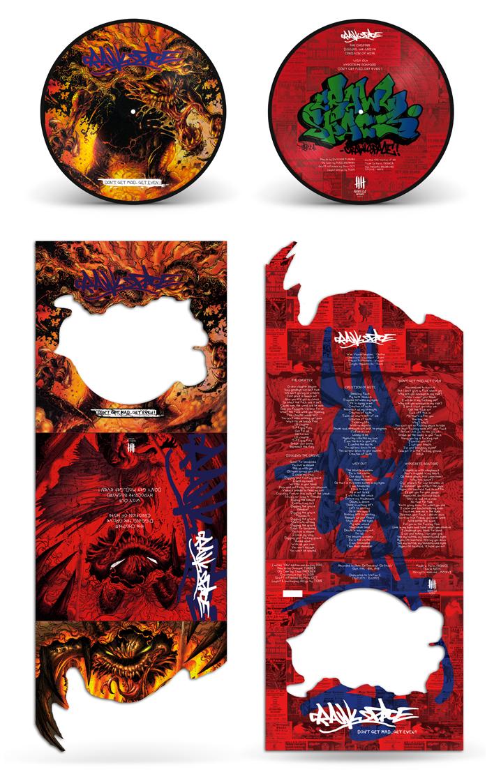CRAWLSPACE picture disc vinyl, OG edition