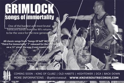 GRIMLOCK Promo flyer
