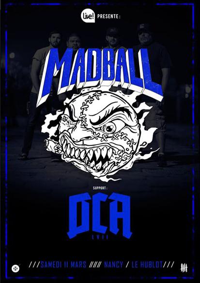 Madball DCA flyer
