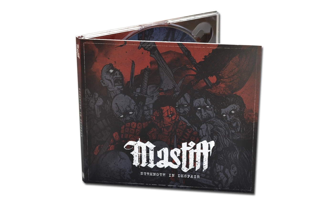 MASTIFF 'Strength In Despair' front