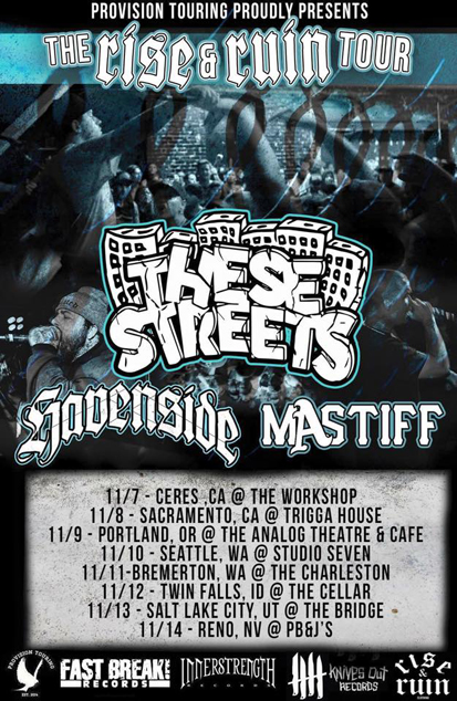 MAstiff tour flyer