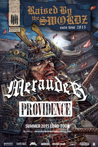 Merauder Providence tour poster