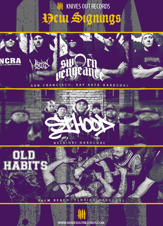 SWORN VENGEANCE / ST HOOD / OLD HABITS