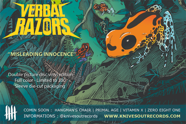 VERBAL RAZORS promo flyer