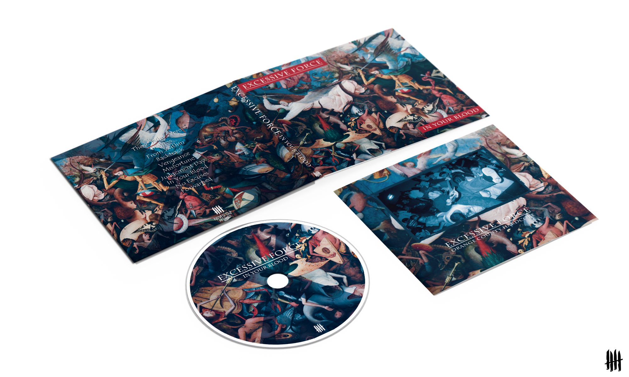 EXCESSIVE FORCE In Your Blood digipack CD with classic booklet