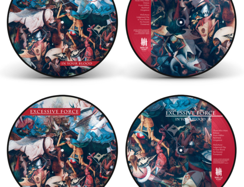 "EXCESSIVE FORCE ""In Your Blood"" Double Picture Disc Vinyl Edition"