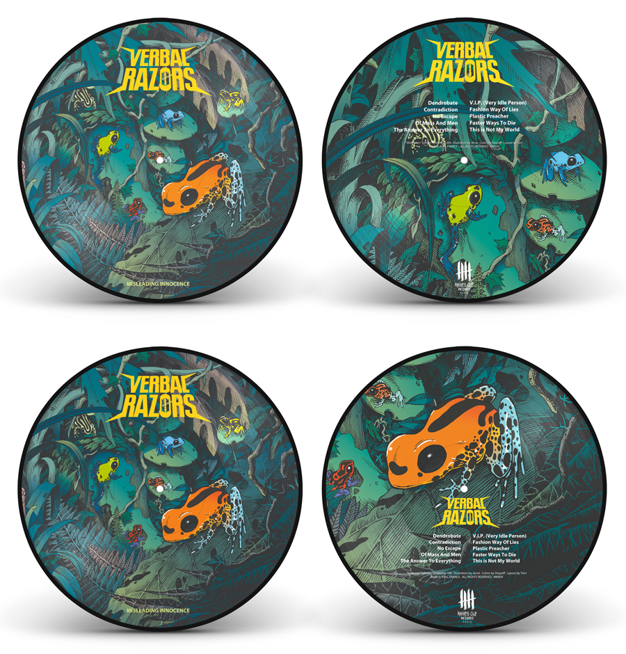 VERBAL RAZORS full picture disc edition