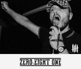 ZERO EIGHT ONE