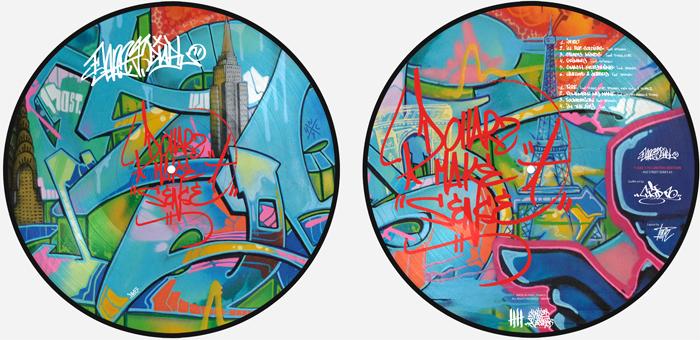 DANNY DIABLO 'Dollerz Make Sense' Picture Disc T-KID 170 Edition