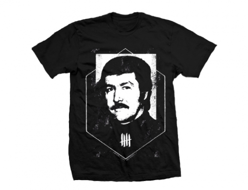 "KNIVES RECORDS ""Jacquo Mesrine"" Tshirt"