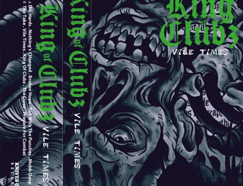 "KING OF CLUBZ ""Vile Times"" Cassette Tape – Classic Edition"
