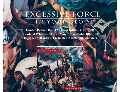 "Deluxe Reissue : EXCESSIVE FORCE ""In Your Blood"""