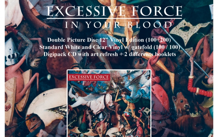 EXCESSIVE FORCE In Your Blood announcement