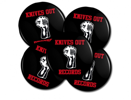Knives Out records x Youth Of Today tribute button