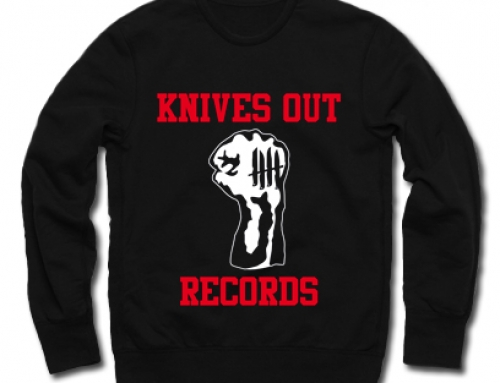 Knives Out records x Youth Of Today tribute crewneck/longsleeve