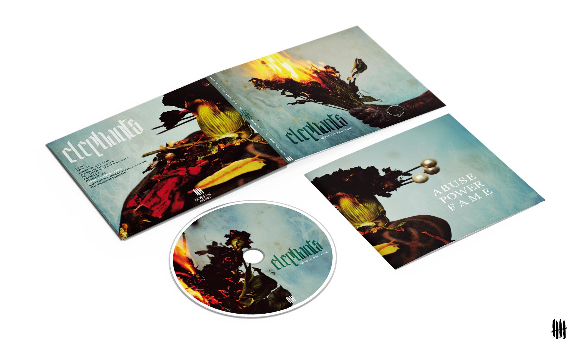 ELEPHANTS Abuse Power Fame digipack CD