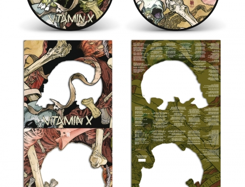 "VITAMIN X ""Full Scale Assault"" Picture Disc vinyl – Deluxe SCULL Edition"